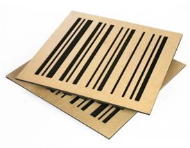 panel absorbente madera